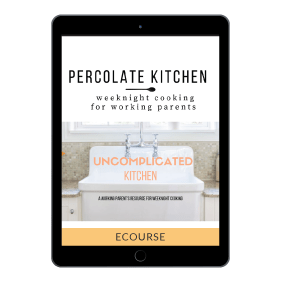 Uncomplicated Kitchen cover on iPad