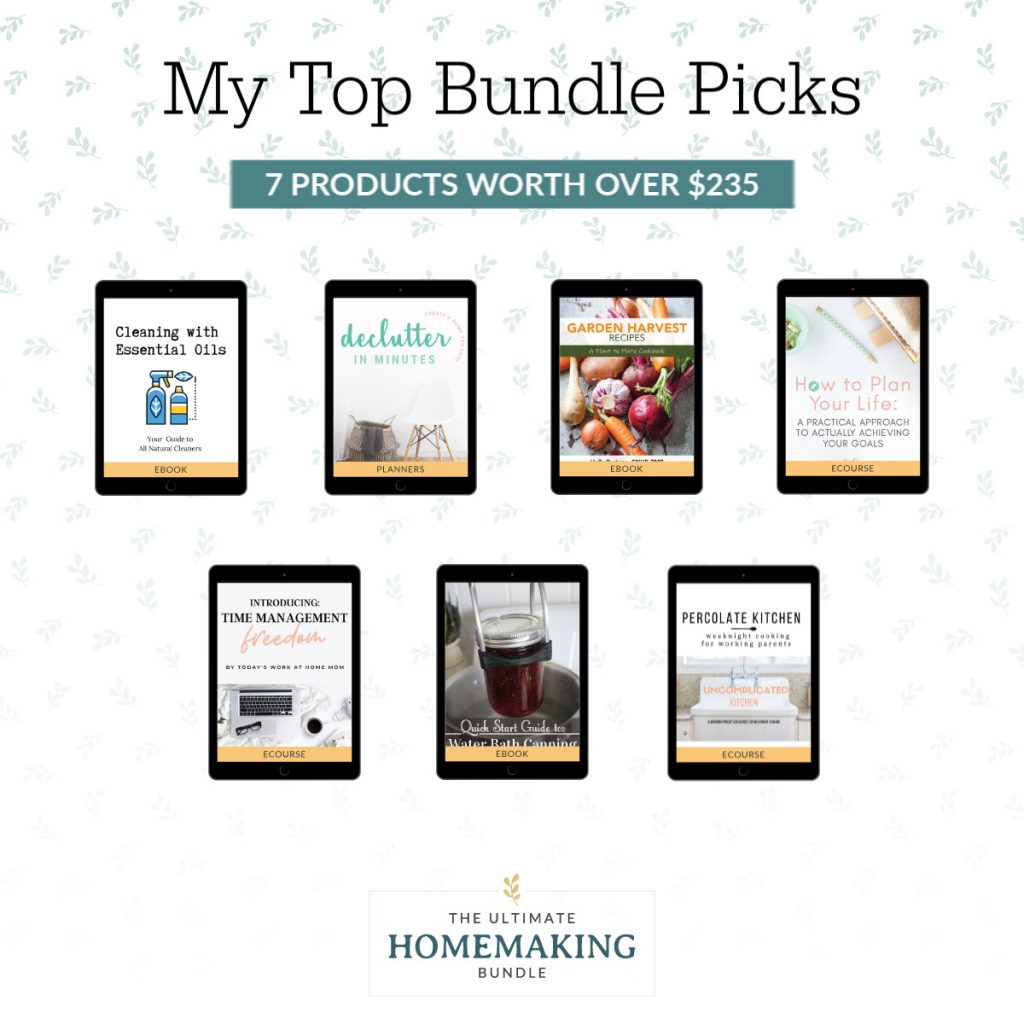 graphic with cover photos of my top bundle picks