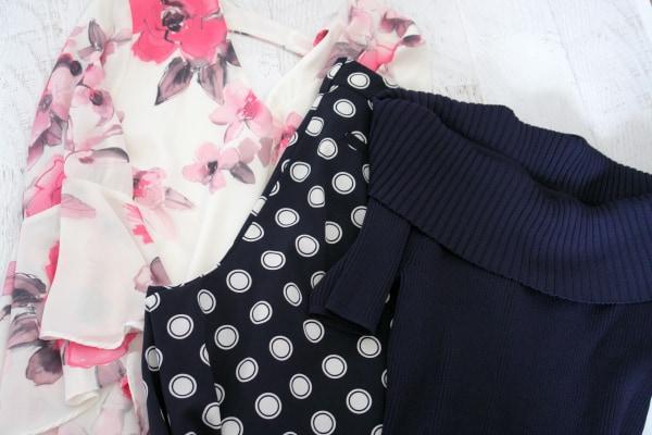 three clothing items from ny&c closet