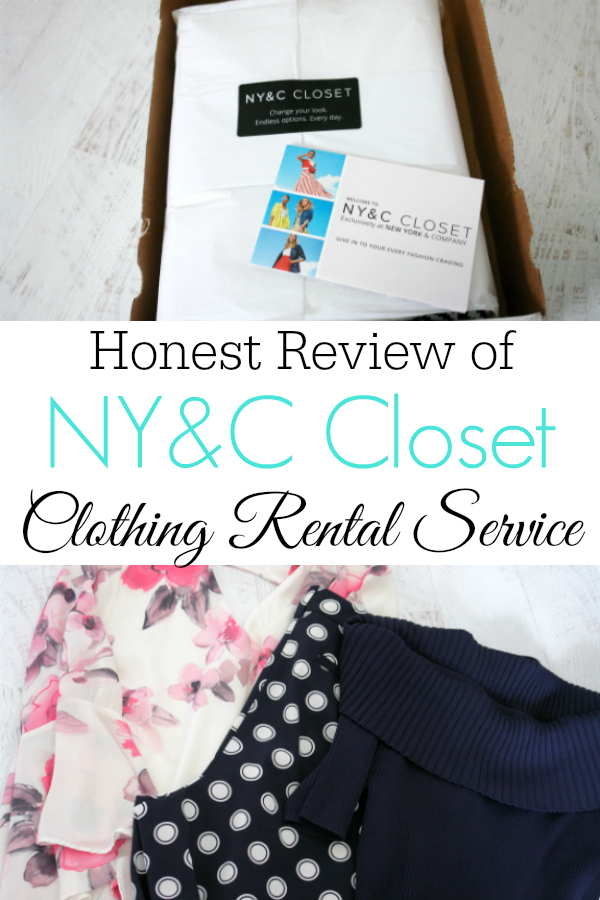 Collage of NY&C Closet