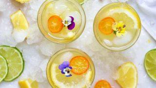 Healthy Pear Lemonade