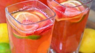 Strawberry Lemon Lime Lemonade