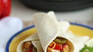 Tequila and Lime Chicken Fajitas Sous Vide