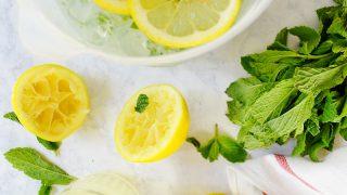 Mint-Infused Lemonade Recipe
