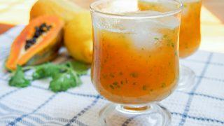 Papaya Lemonade