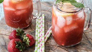 Strawberry Mint Lemonade Recipe