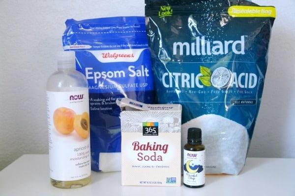 fizzing bath salts ingredients