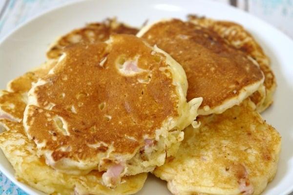 Ham and Cheese Pancakes