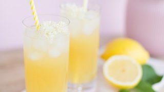 Japanese Lilac Gin Lemonade