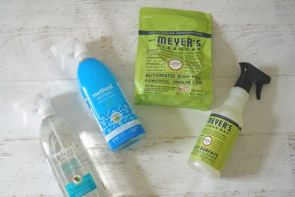 name brand natural cleaners