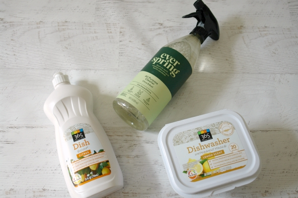store brand natural cleaners