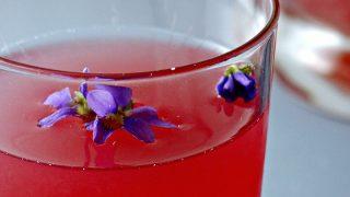 Violet and Dandelion Pink Lemonade