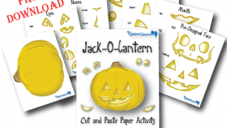 FREE Jack-O-Lantern Cut and Paste Activity Printable