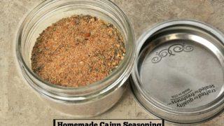 Homemade Cajun Seasoning Mix