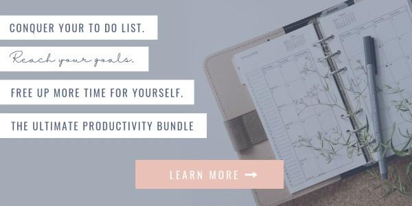 ultimate productivity bundle banner