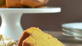 Pumpkin Spice Bundt Cake With Caramel Icing