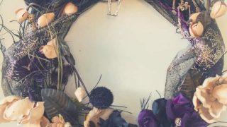 Create a Beautiful Skeleton Halloween Wreath