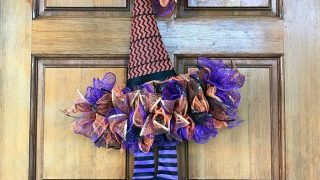 A Witches Hat Wreath