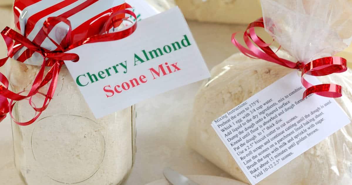 Cherry Almond Scone Mix
