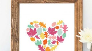 Autumn Leaves Art Print - Free Printable Art for your Home