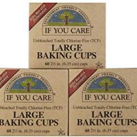 Unbleached Large Baking Cups