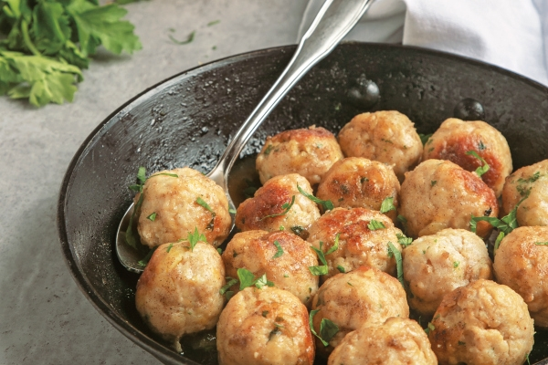 Easy Awesome Beer Turkey Meatballs Recipe