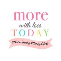 More With Less Today