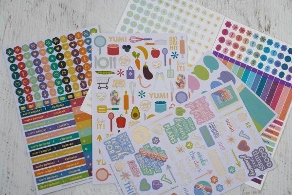 Erin Condren stickers