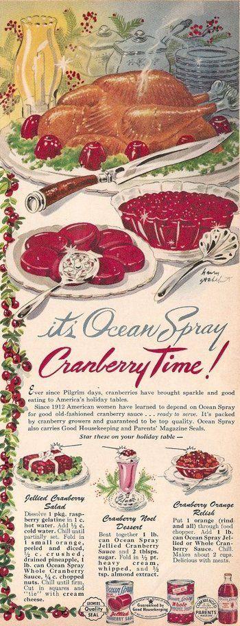 Ocean Spray Cranberry ad