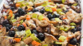 Blueberry Bread Stuffing