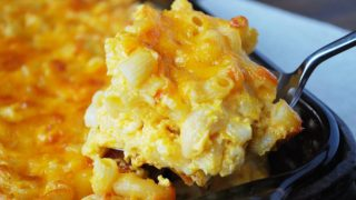 Lightened-Up Southern Macaroni and Cheese recipe