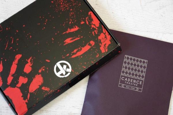 Hunt A Killer box and folder