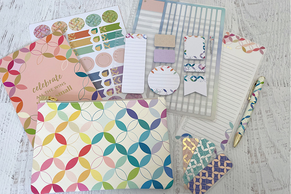 Erin Condren LifePlanner accessories on table