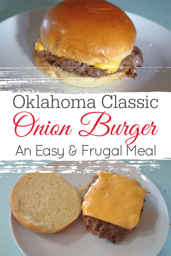 collage of onion burgers