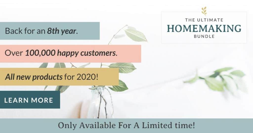Ultimate Homemaking Bundle banner