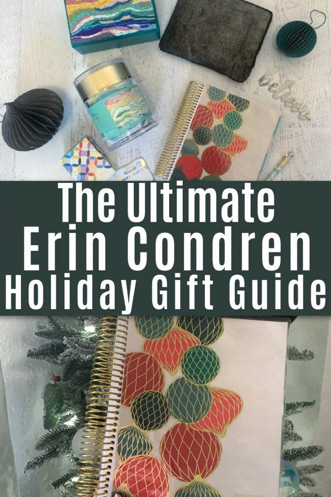 Erin Condren gifts and planner